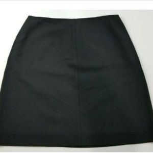 Jones New York Black Skirt Size 14P Pencil Lined